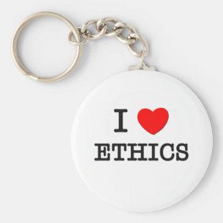 I love Ethics Keychain