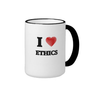 I love ETHICS Ringer Mug