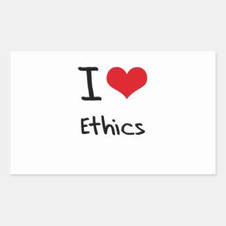 I love Ethics Stickers