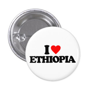 I LOVE ETHIOPIA BUTTONS