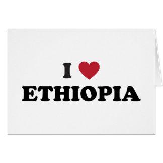 I Love Ethiopia Card