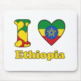 I love Ethiopia Mouse Pad