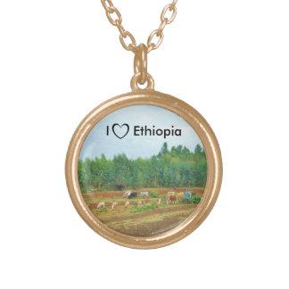 I Love Ethiopia Necklace #3