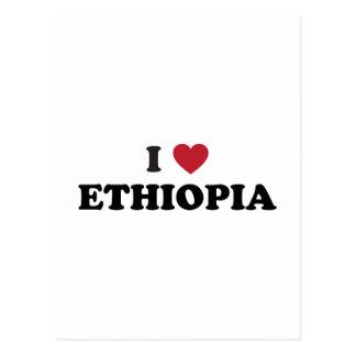 I Love Ethiopia Postcard