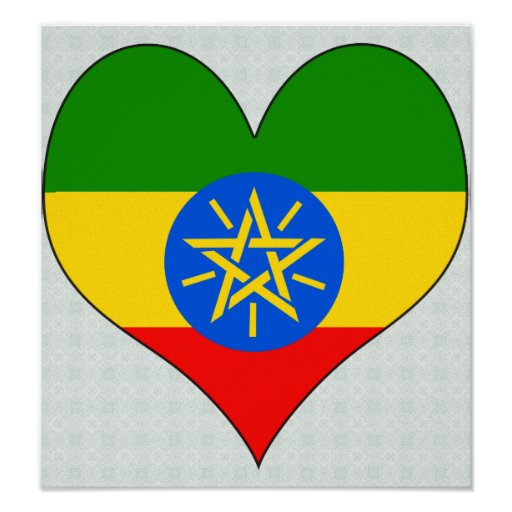 I Love Ethiopia Poster