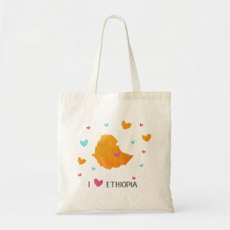 I Love Ethiopia shopping bag