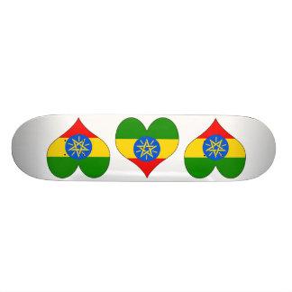 I Love Ethiopia Skateboard Decks
