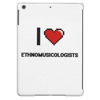 i LOVE eTHNOMUSICOLOGISTS iPad Air Cases