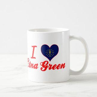 I Love Etna Green, Indiana Mugs