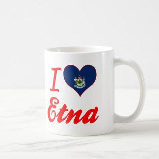 I Love Etna, Maine Coffee Mug