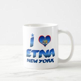 I love Etna, New York Mugs
