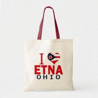 I love Etna, Ohio Bags