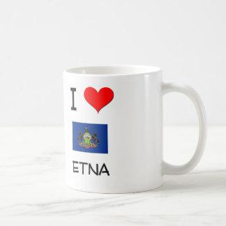I Love Etna Pennsylvania Coffee Mugs