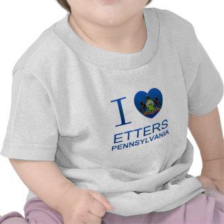 I Love Etters, PA Tees