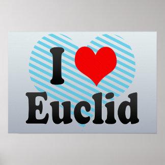 I Love Euclid, United States Print
