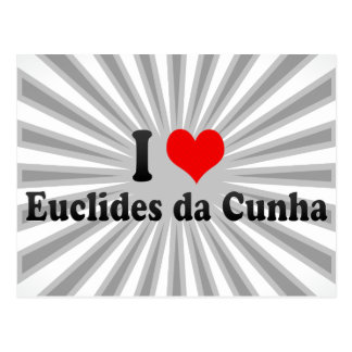 I Love Euclides da Cunha, Brazil Postcard