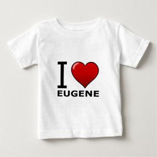 I LOVE EUGENE,OR - OREGON BABY T-Shirt