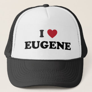 I Love Eugene Oregon Trucker Hat