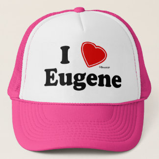 I Love Eugene Trucker Hat