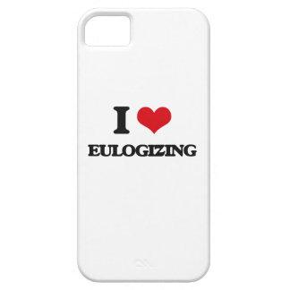 I love EULOGIZING iPhone 5 Cover