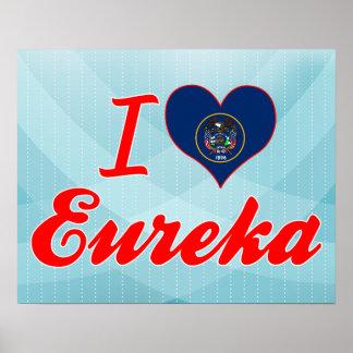 I Love Eureka, Utah Poster