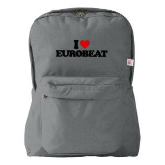 I LOVE EUROBEAT AMERICAN APPAREL™ BACKPACK