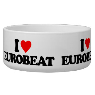 I LOVE EUROBEAT BOWL