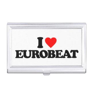 I LOVE EUROBEAT BUSINESS CARD HOLDER