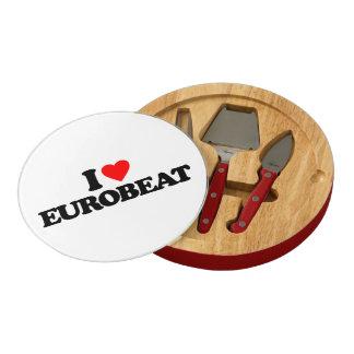 I LOVE EUROBEAT CHEESE BOARD