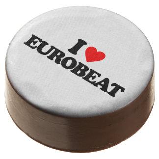 I LOVE EUROBEAT CHOCOLATE DIPPED OREO