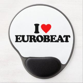 I LOVE EUROBEAT GEL MOUSE PAD