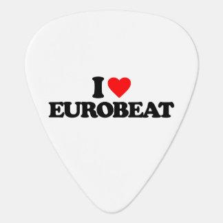 I LOVE EUROBEAT GUITAR PICK