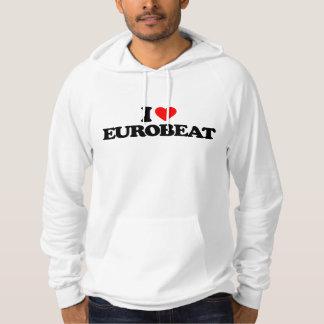 I LOVE EUROBEAT HOODIE