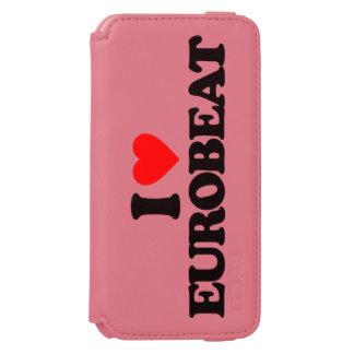 I LOVE EUROBEAT iPhone 6/6S WALLET CASE