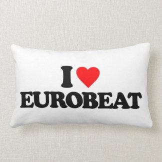 I LOVE EUROBEAT PILLOW