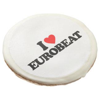I LOVE EUROBEAT SUGAR COOKIE