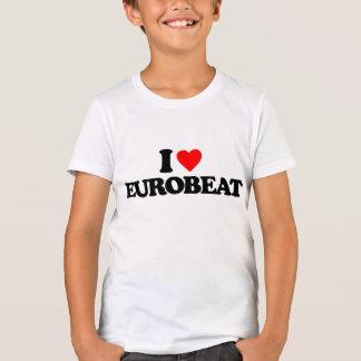 I LOVE EUROBEAT T-Shirt