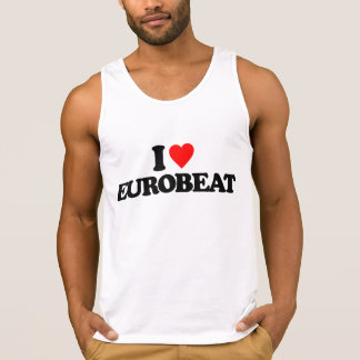 I LOVE EUROBEAT TANK TOP