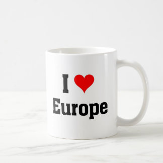 I love Europe Coffee Mug