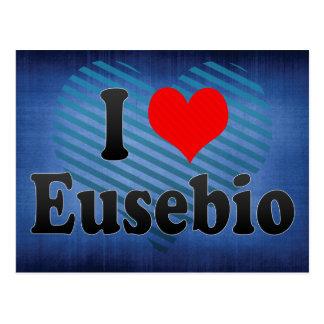 I Love Eusebio, Brazil. Eu Amo O Eusebio, Brazil Postcard