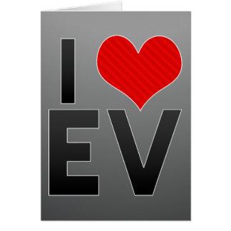 I Love EV Cards