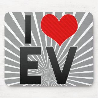I Love EV Mouse Pad