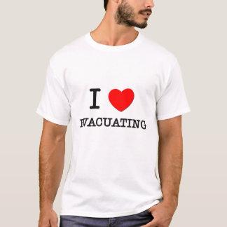 I love Evacuating T-Shirt