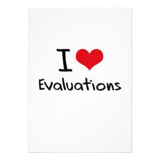 I love Evaluations Personalized Invite