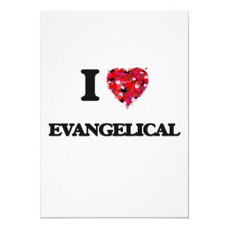 I love EVANGELICAL 5x7 Paper Invitation Card