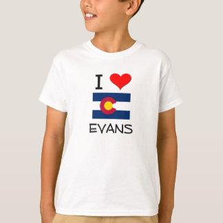 I Love EVANS Colorado T-Shirt