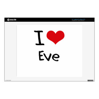 I love Eve Laptop Decals