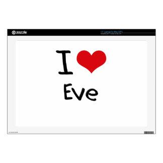I love Eve Skin For Laptop