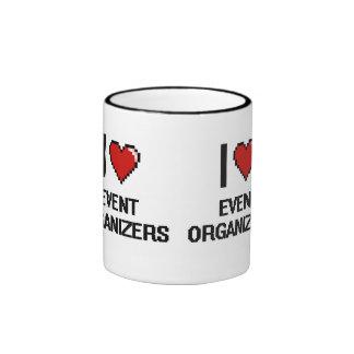 I love Event Organizers Ringer Coffee Mug