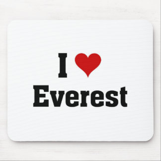 I love Everest Mouse Pad
